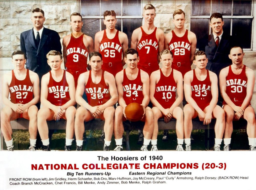 Branch McCracken - Indiana University Basketball History IU