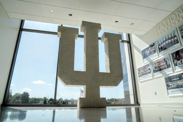 iu-assembly-hall-trident-logo