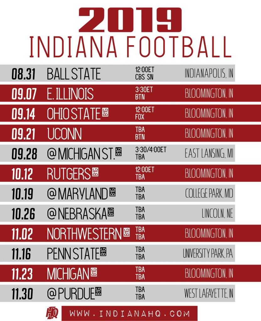 This is an image of Gutsy Michigan Football Schedule Printable