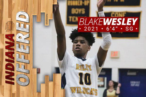 Blake Wesley Offered