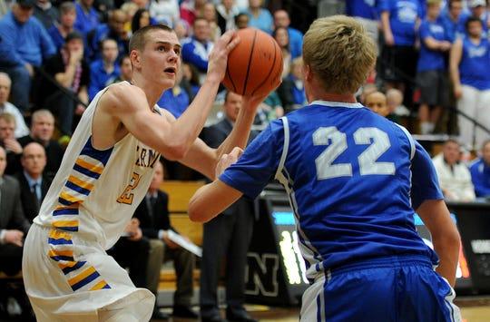 Zach McRoberts - Indiana University IU Hoosiers Basketball