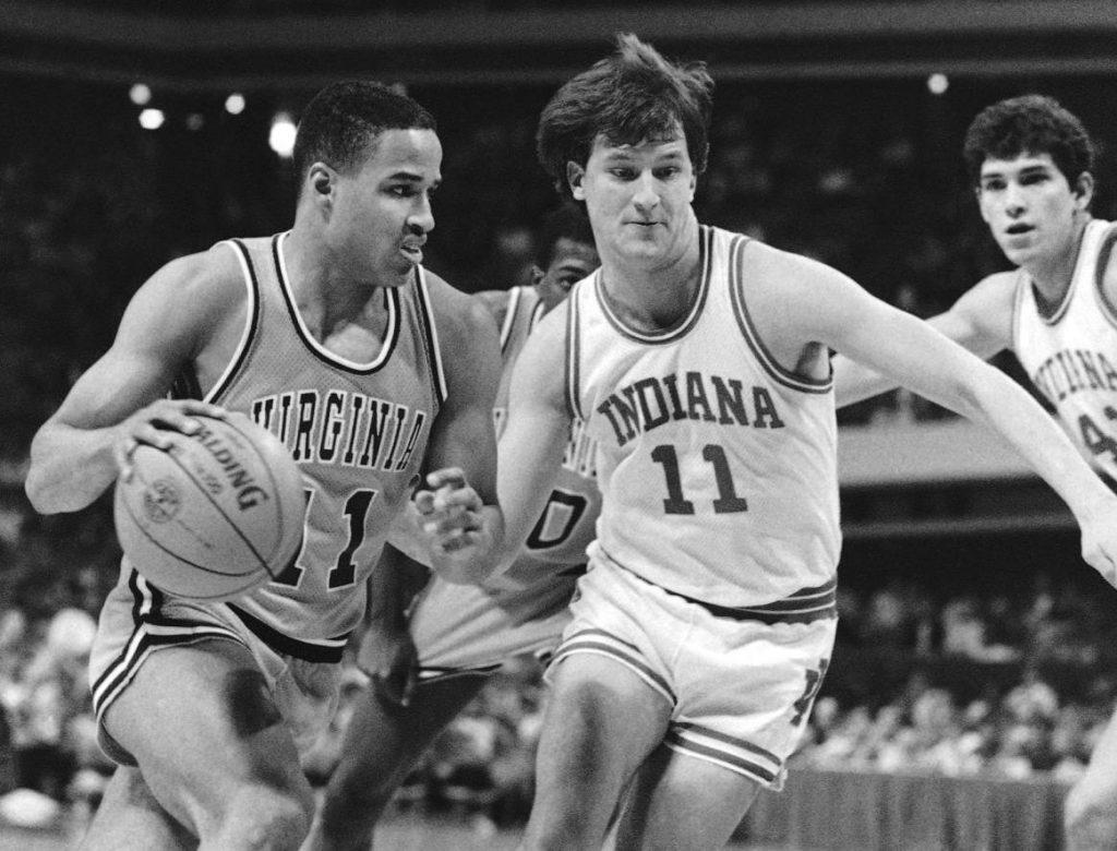 Indiana University Basketball Roster 1985