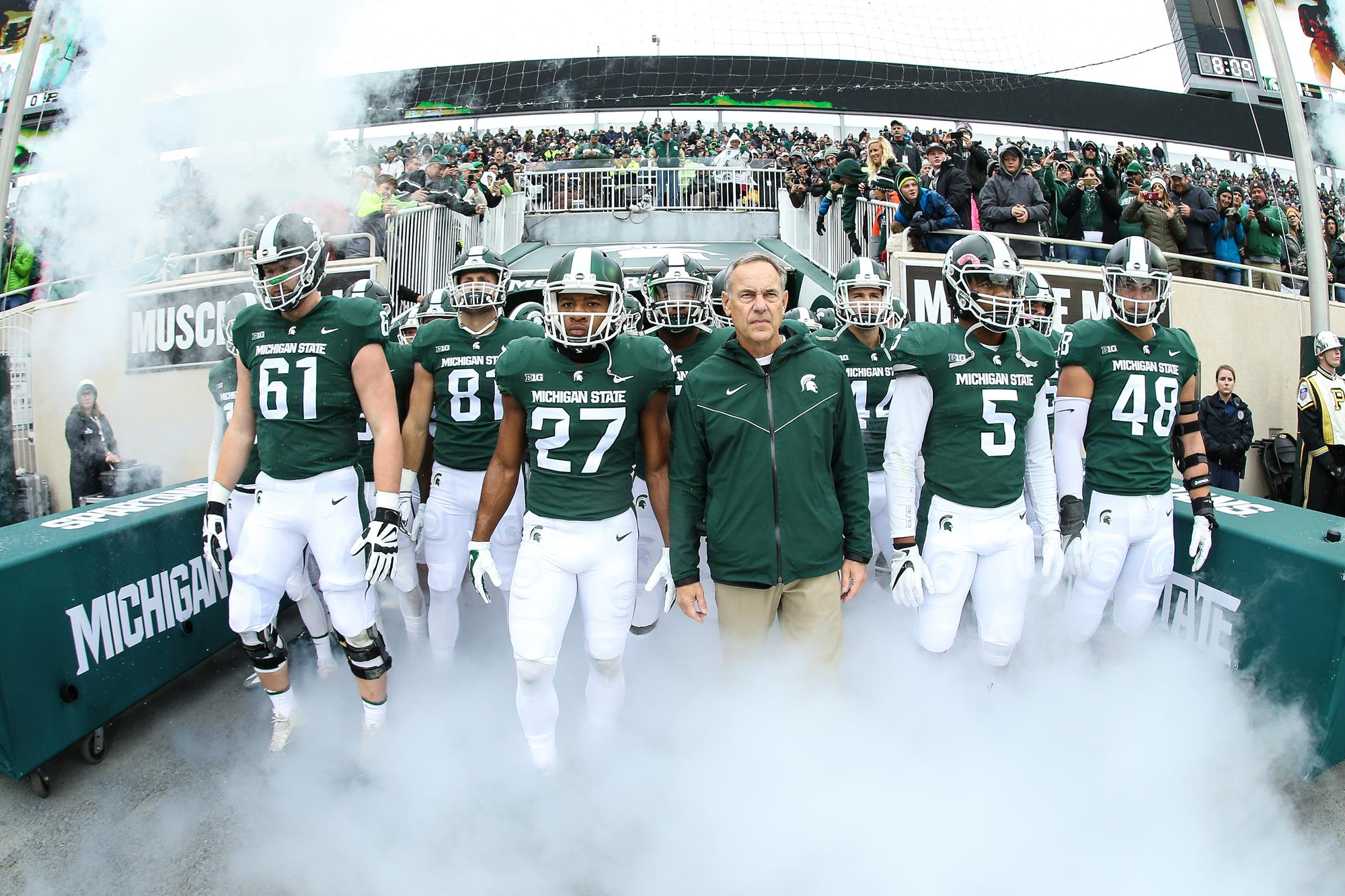 It is an image of Exhilarating Msu Football Schedule 2020 Printable