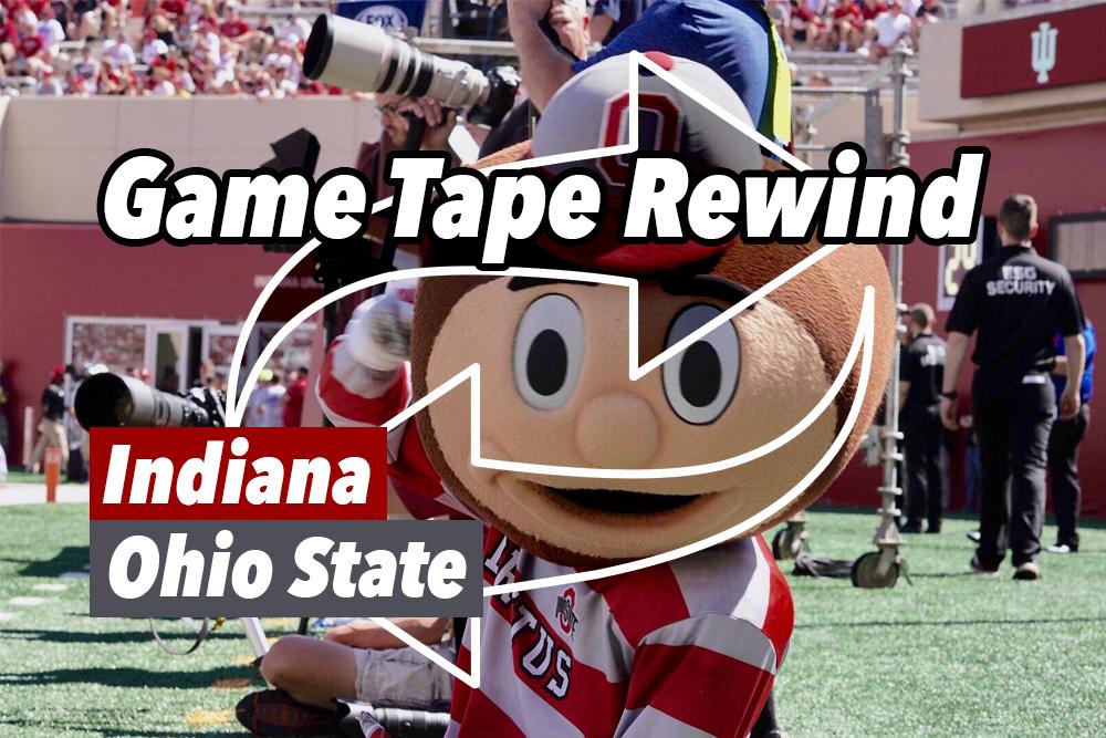 Game Tape Rewind Indiana Hoosiers Football Versus Ohio