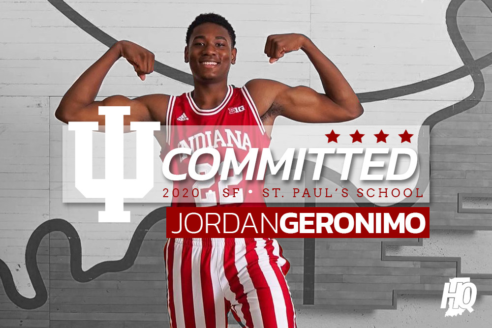 Top College Players 2020.Jordan Geronimo Commits To Indiana Four Star Top 100 2020 Forward