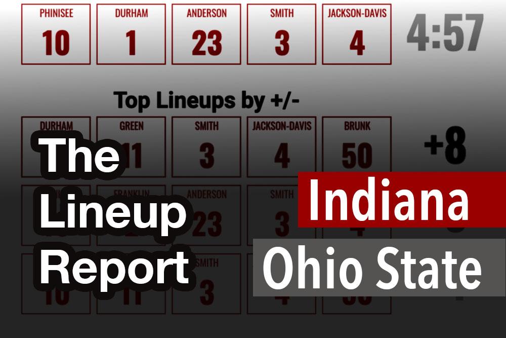 Indiana Basketball The Lineup Report Ohio State Buckeyes