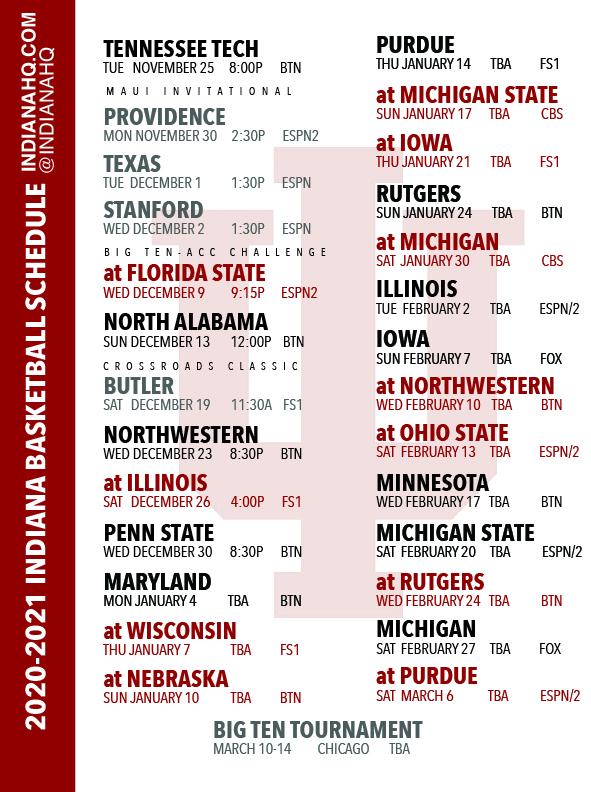 Indiana University Bloomington Calendar 2021-22 Photos